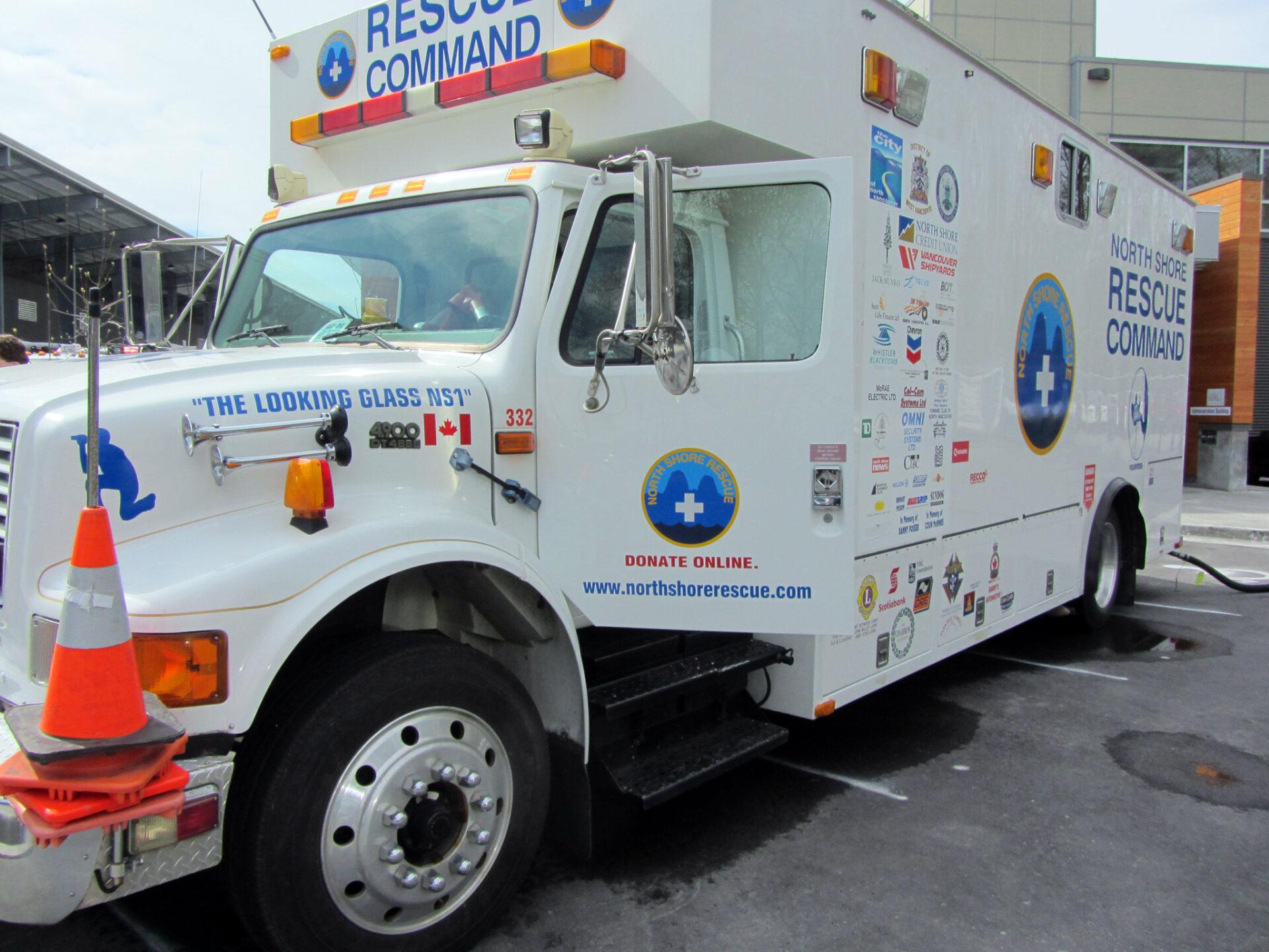 North Shore Rescue Mobile Command Truck