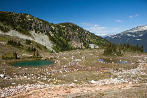 Symphony Lake along the High Note Trail in Whistler's Alpine