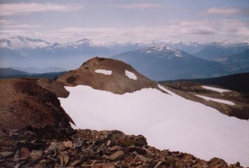 Panorama Ridge from Panorama Peak