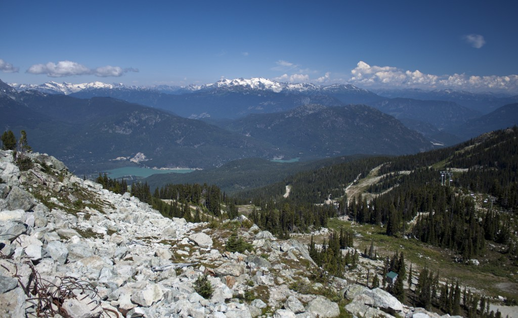 Blackcomb View near Rendezvous