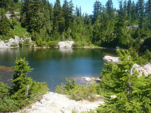 Mystery Lake near Mount Seymour, North Vancouver