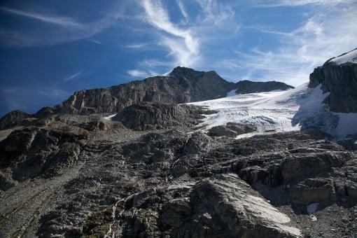 Tzil Glacier. Photo by Stefan Lozinsky