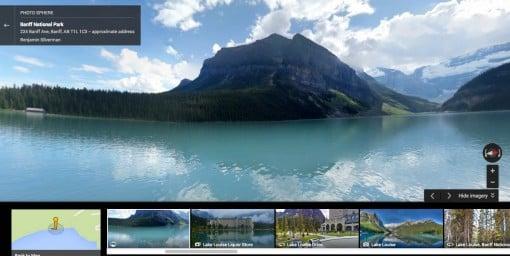 Lake Louise Street View