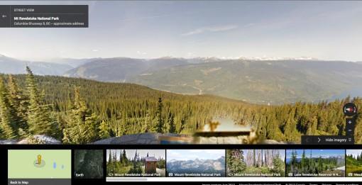 Mount Revelstoke National Park Street View