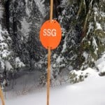 A Snowshoe Grind sign