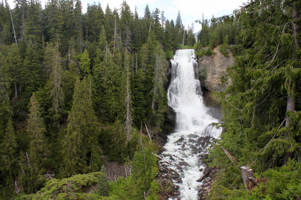 Alexander Falls near Whistler, BC