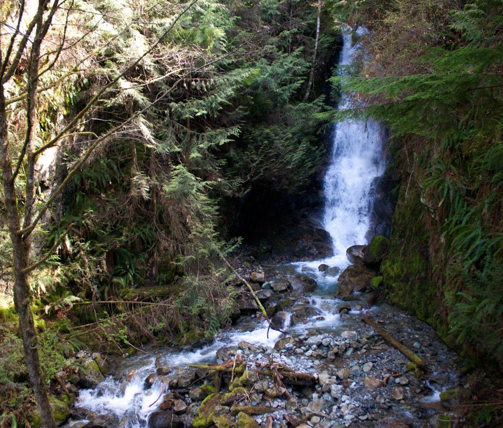 Crystal Falls in Lions Bay, BC