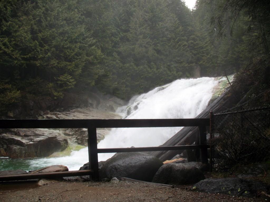 Gold Creek Falls in Golden Ears Provincial Park