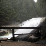 Gold Creek Falls in Golden Ears Provincial Park