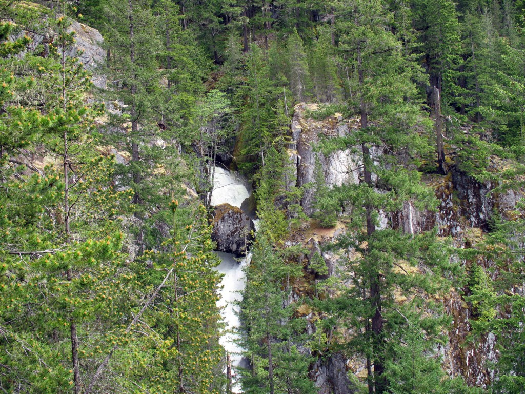 High Creek Falls northwest of Squamish, BC