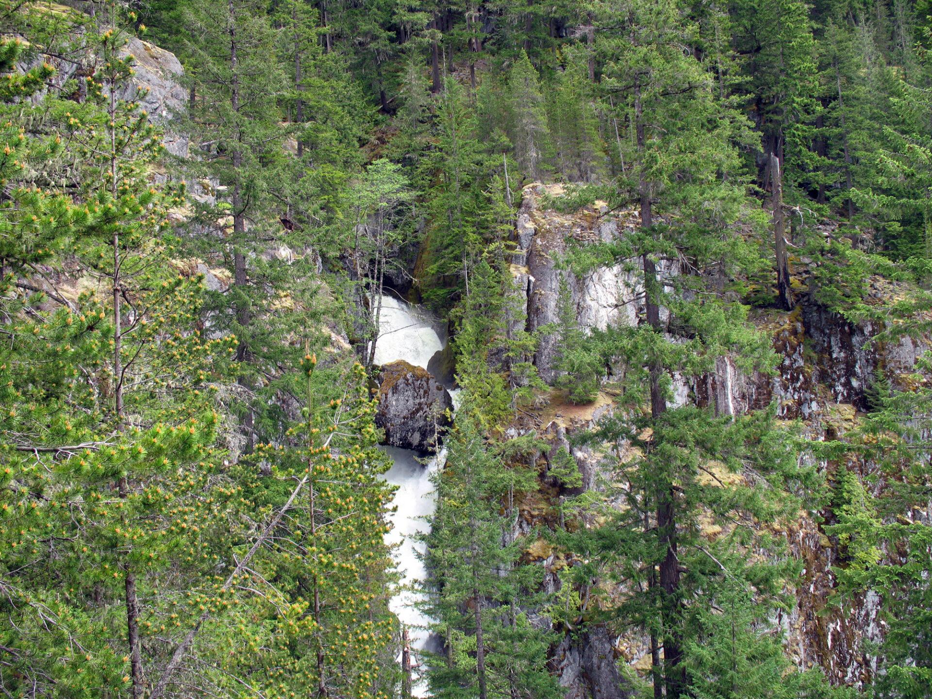Fallen From Squamish Facebook High Creek Falls