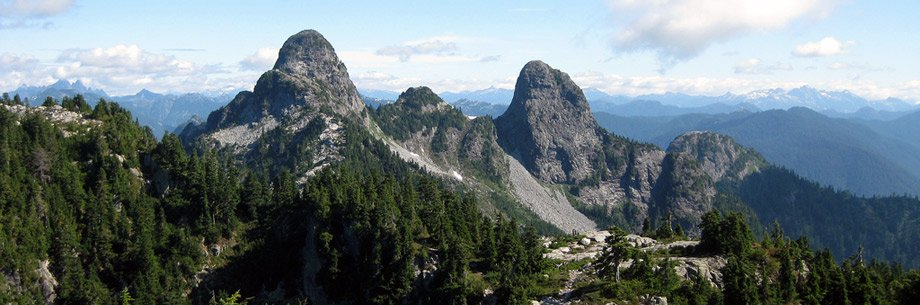 The Lions from the Howe Sound Crest Trail