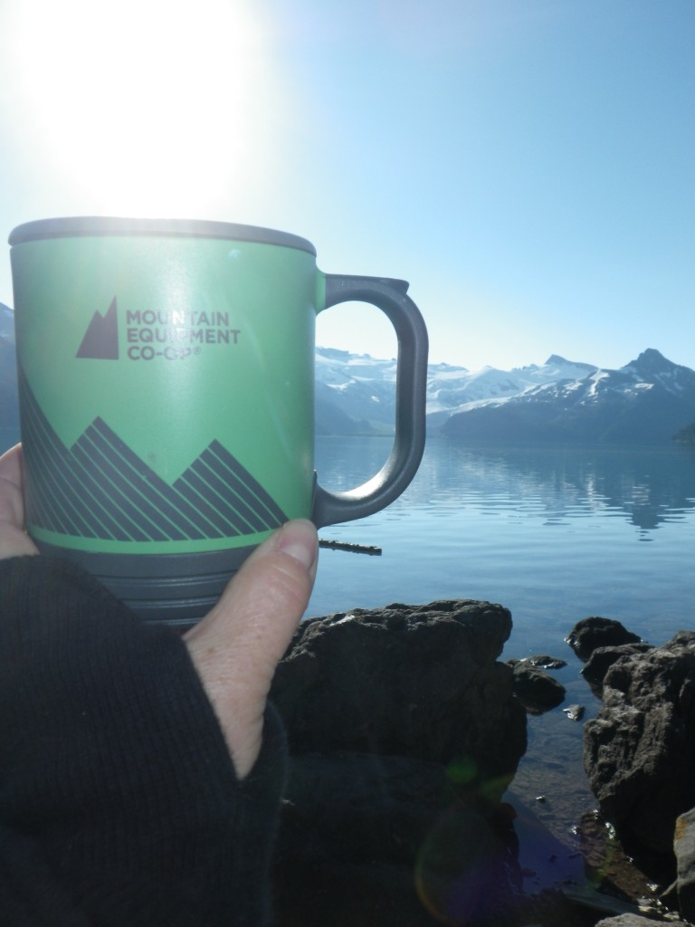 MEC Mug at Garibaldi Lake