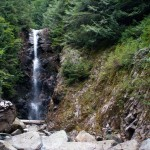 Norvan Falls in the summer