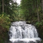 Waterfalls near Rolley Lake in Mission, BC