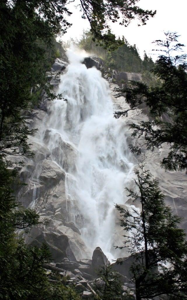 Shannon Falls near Squamish, BC