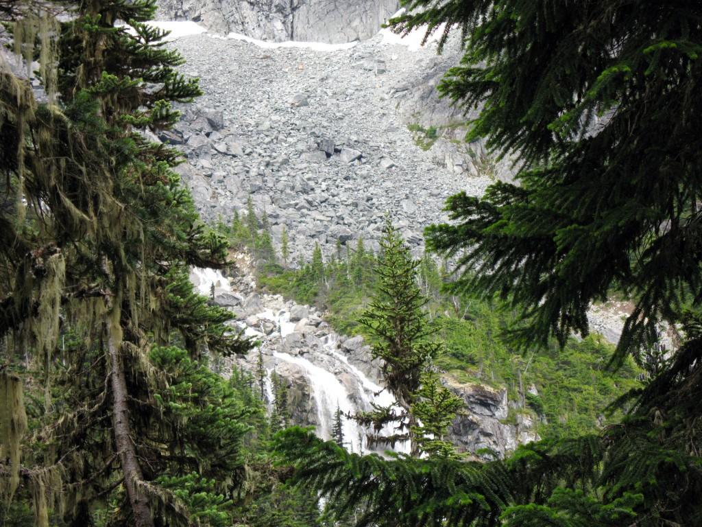 Wedgemount Falls north of Whistler, BC