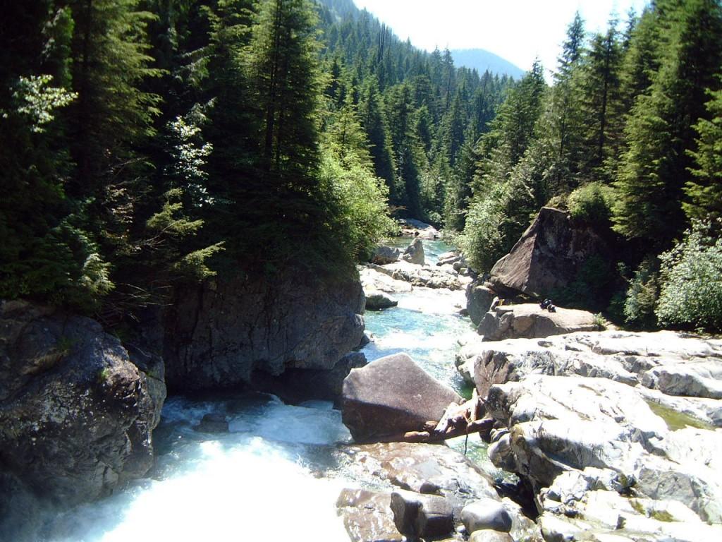 Widgeon Falls near Pitt Lake