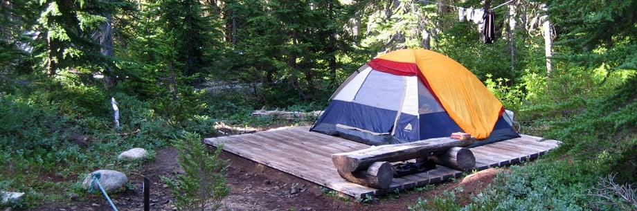 Camping Taylor Meadows