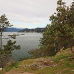 The view from Juniper Point in Lighthouse Park