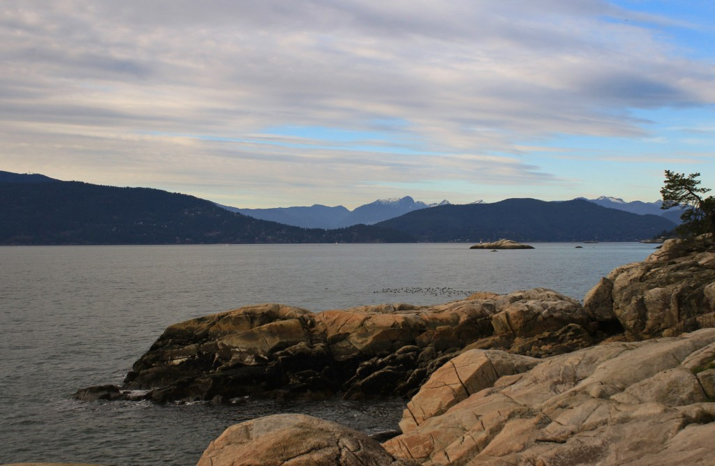 The view from Shore Pine Point in Lighthouse Park