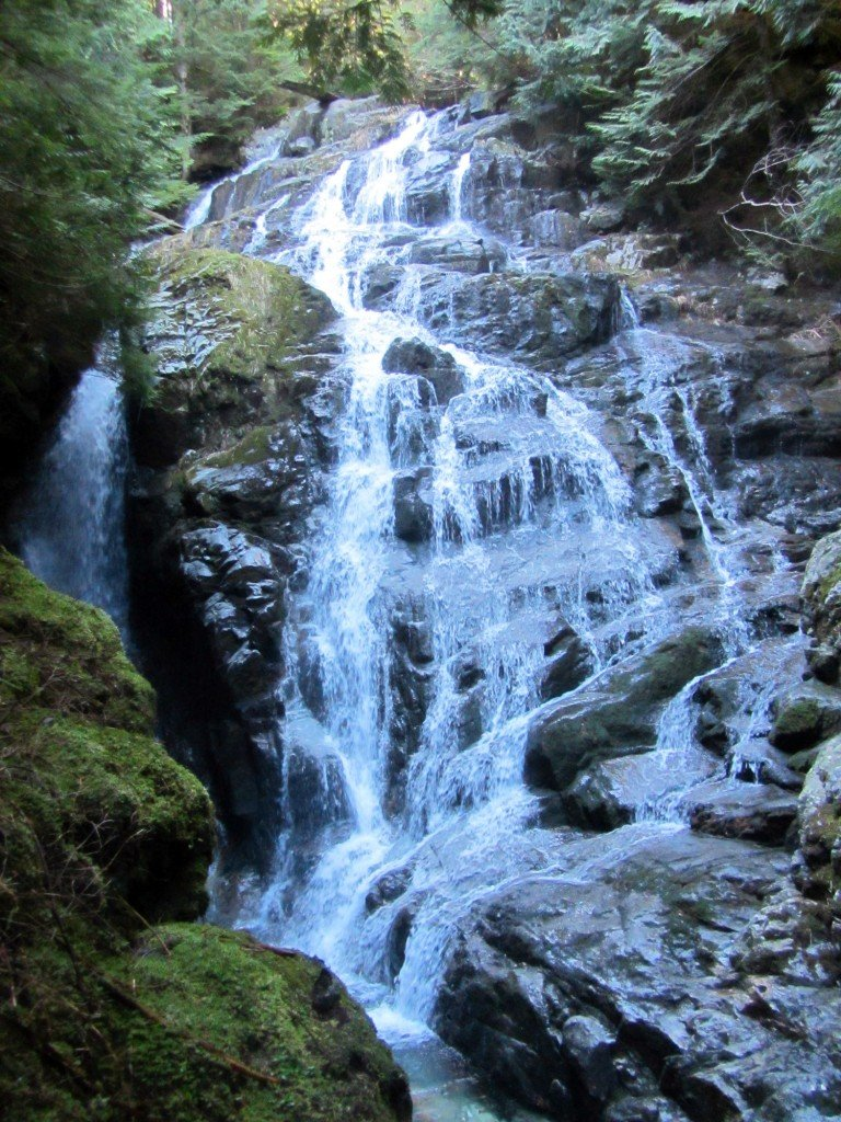 Kennedy Falls in North Vancouver