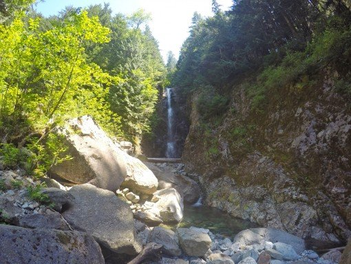Norvan Falls in Lynn Headwaters Regional Park