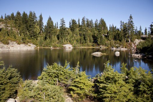Mystery Lake at Mount Seymour