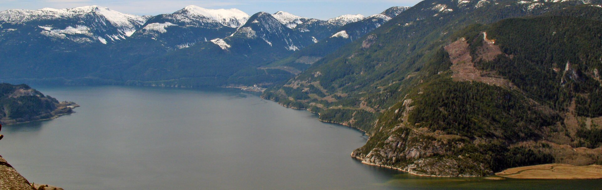 View of Howe Sound from the Chief