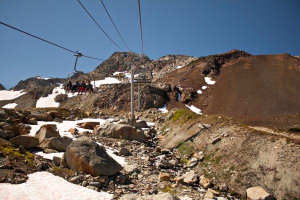 Whistler Peak Chairlift