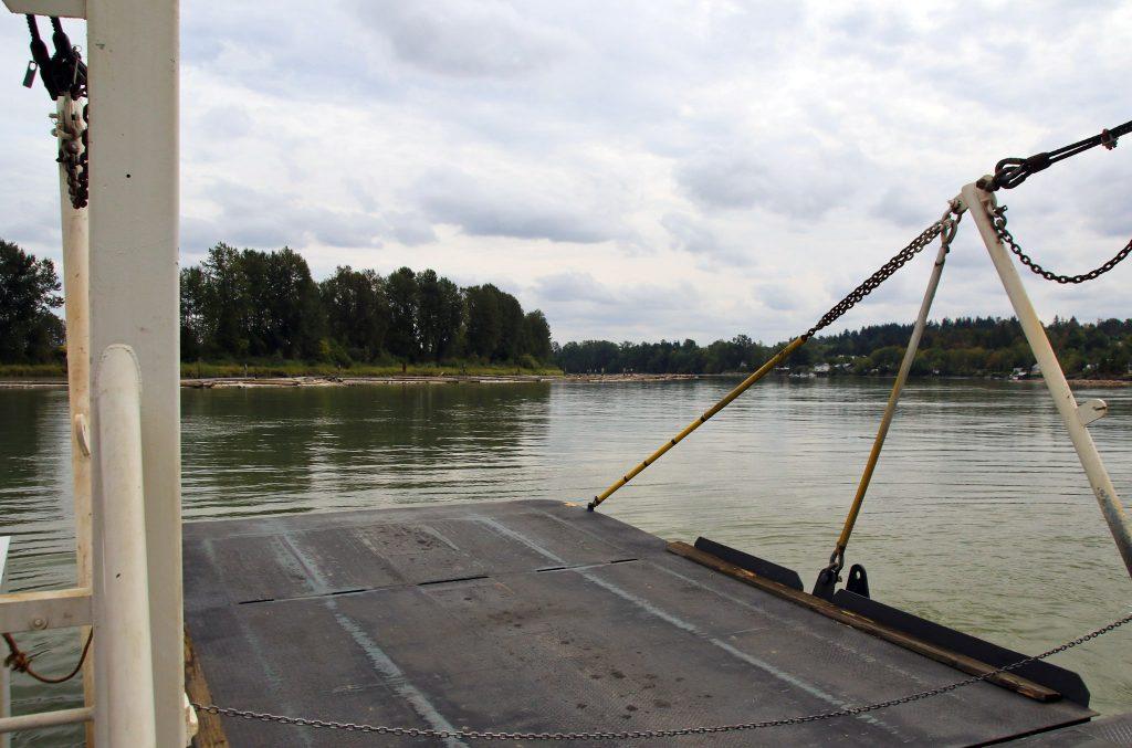 The Barnston Island Ferry Ramp