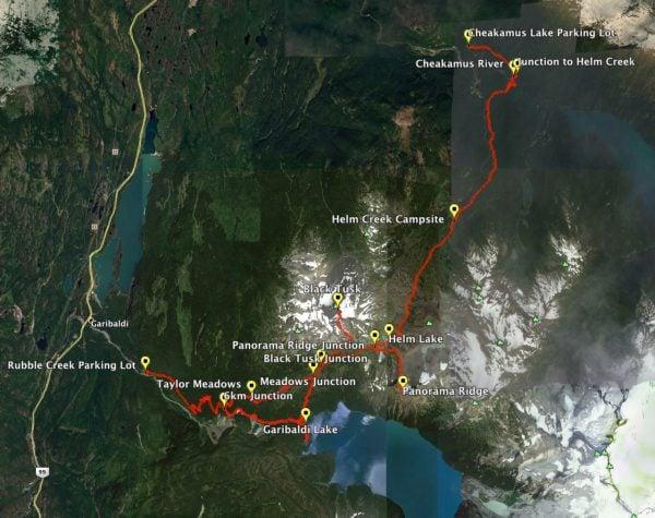 Garibaldi Provincial Park Hiking Trails