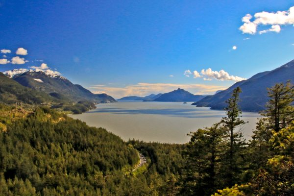 VIew of Howe Sound from the Murrin Loop Trail