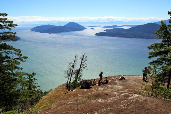 View of Howe Sound from Tunnel Bluffs