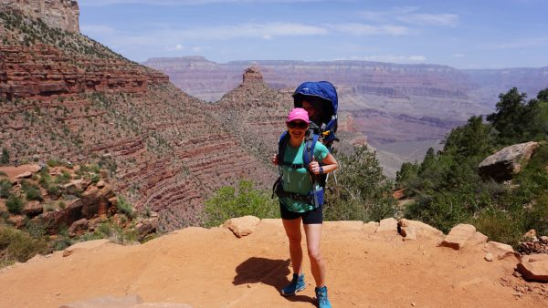 Hiking with a baby in the Grand Canyon