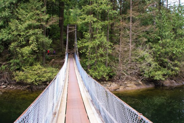 Buntzen Lake Suspension Bridge