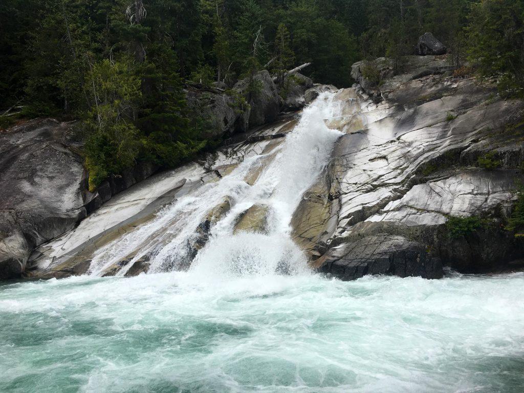 A view of Upper Mehatl Creek Falls