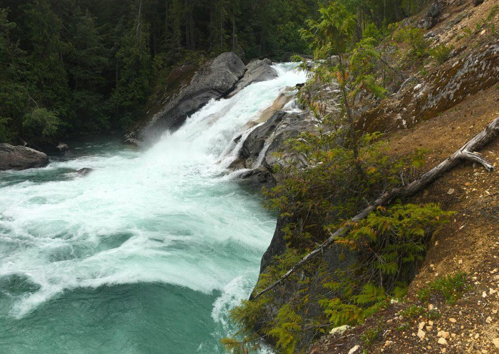 Lower Mehatl Creek Falls