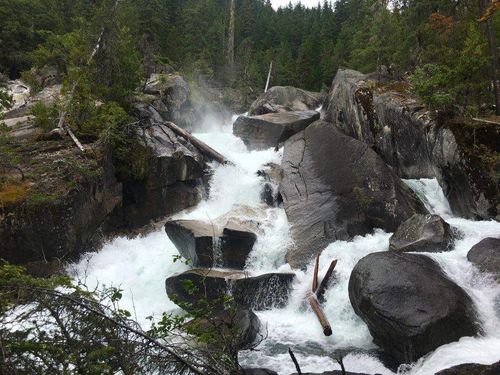 Upper Mehatl Creek Falls