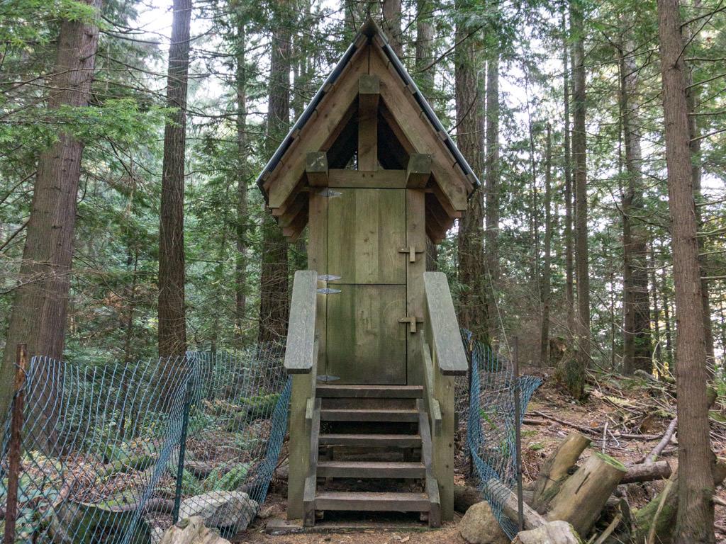 Whyte Lake Outhouse