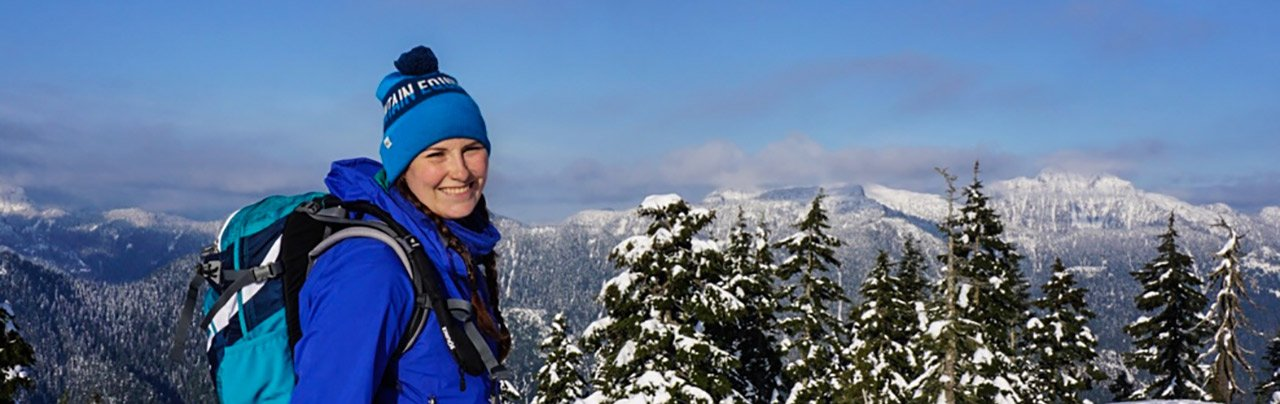 Taryn Snowshoeing