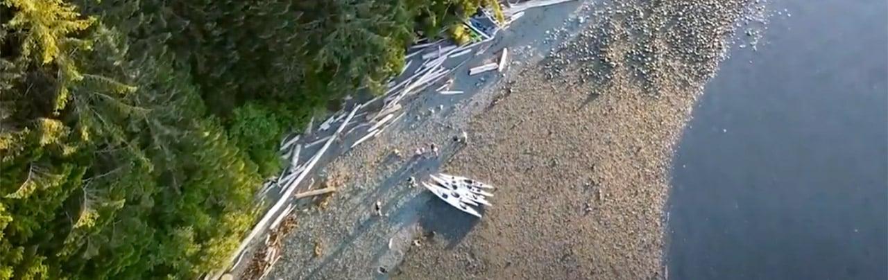 Johnstone Strait Drone Photo