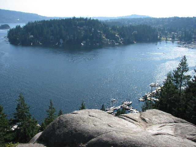 Quarry Rock Baden Powell Trail