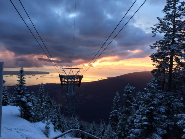 The Grouse Mountain