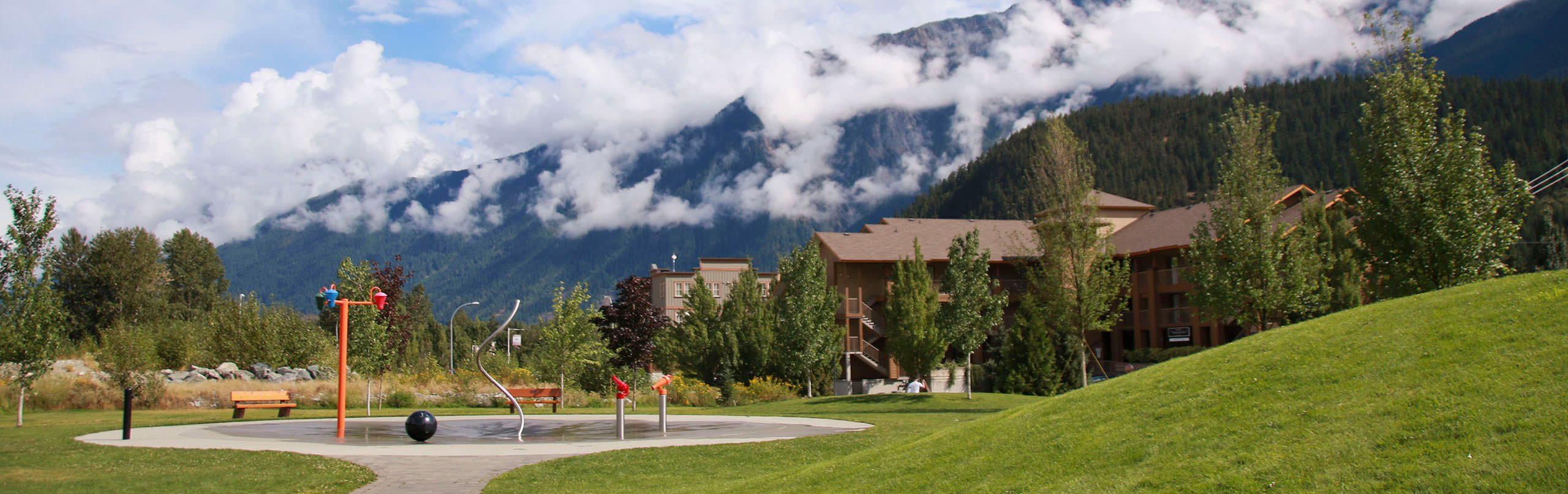 The town of Pemberton, BC