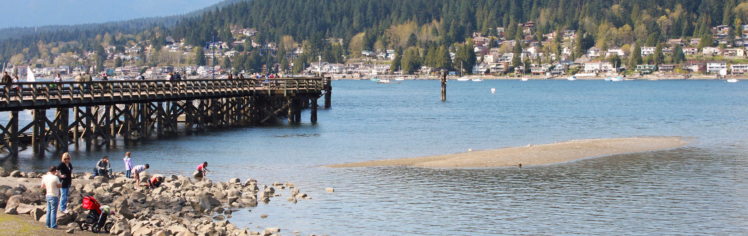 The pier at Rocky Point in Port Moody