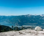 A view of Howe Sound from one of the ridges along the Al's Habrich Ridge Trail