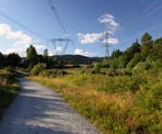 The Coquitlam Crunch follows a trail underneath the power lines