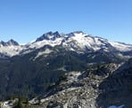A view of the mountain ranges along the Demon Ridge Trail. Photo courtesy of Bill Mauer
