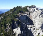 A view of the ridge along the Demon Ridge Trail. Photo courtesy of Bill Mauer